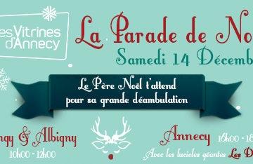 LA PARADE DE NOËL Samedi 14 Décembre