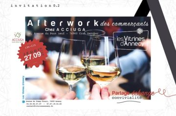Afterwork des commerçants !