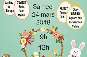 Chasse aux œufs de Pâques 2018