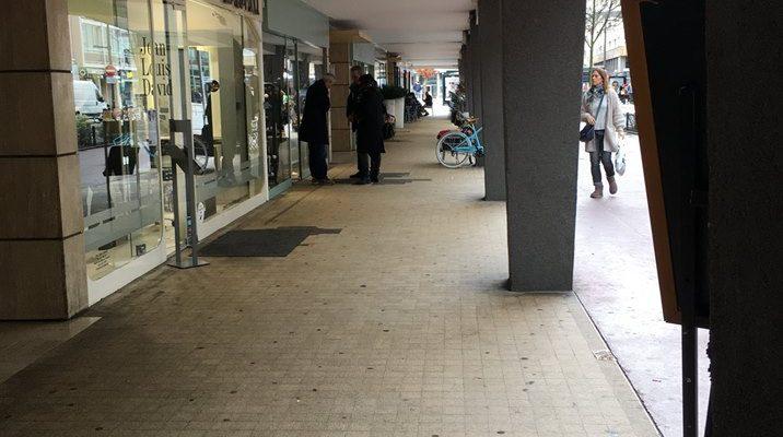 Réfection des arcades de la rue Carnot