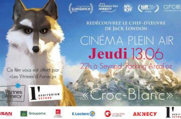 Cinéma Plein Air «Croc-Blanc»
