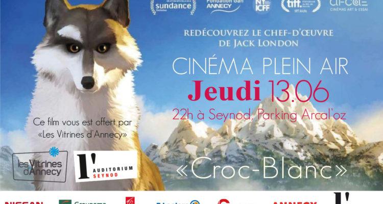 """Cinéma Plein Air """"Croc-Blanc"""""""