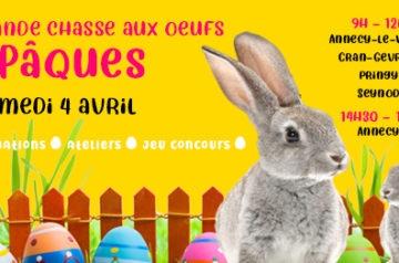 Chasse aux œufs de Pâques Samedi 4 avril 2020