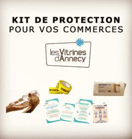 Kit de protection Covid 19 – pour les commerçants