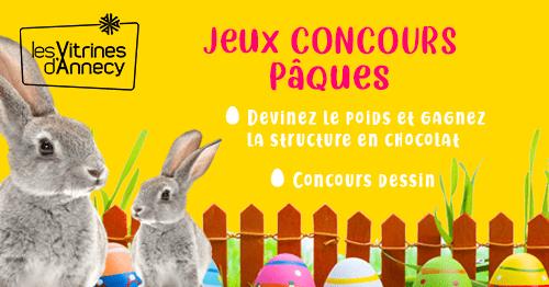 Jeux concours de Pâques